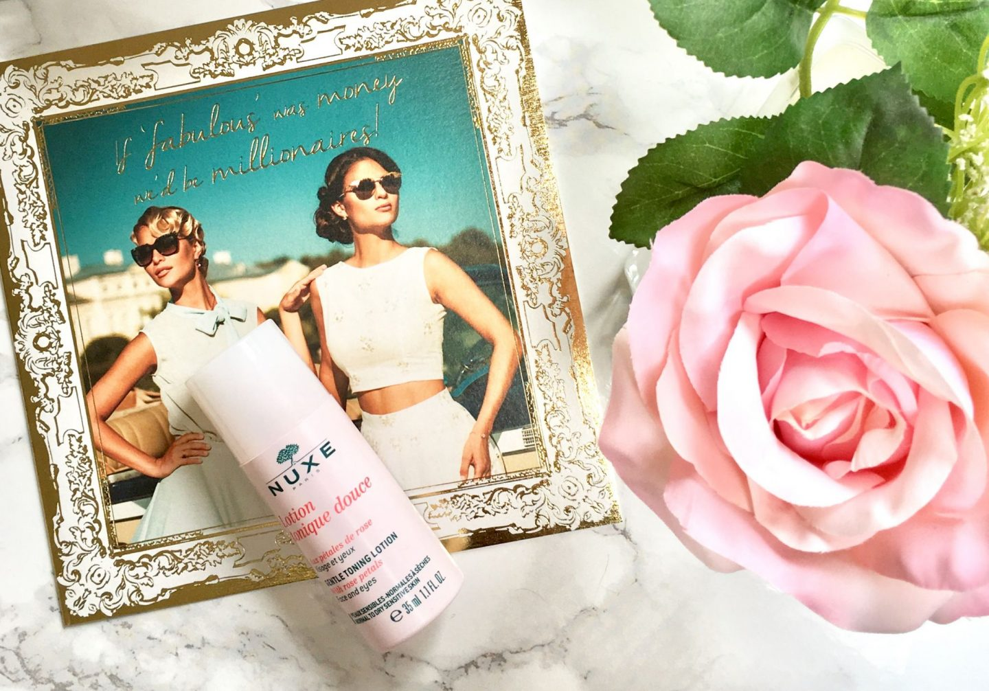 nuxe gentle rose toner