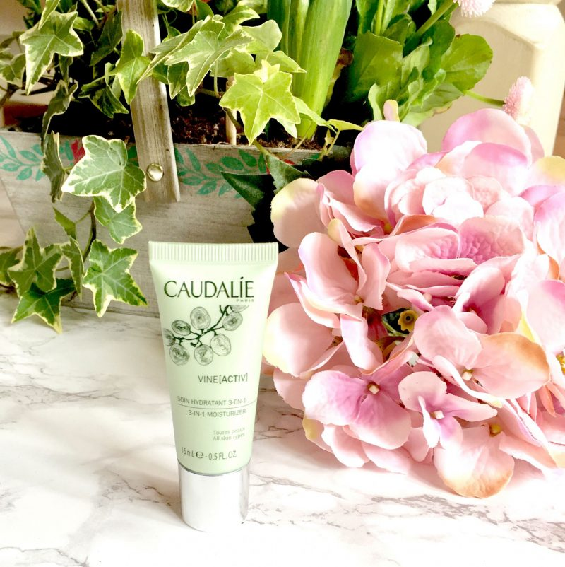 Image shows a tube of Caudalie VineActiv 3 in 1 Moisturiser.