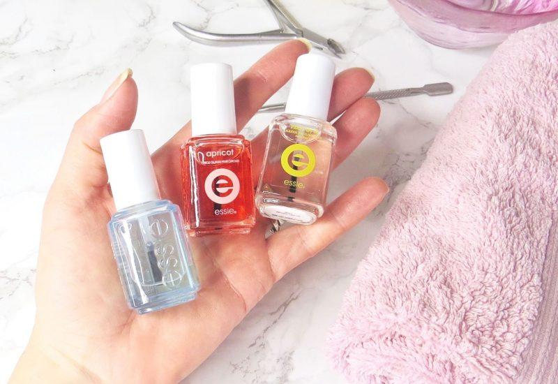 Essie treatments in Samantha's hand