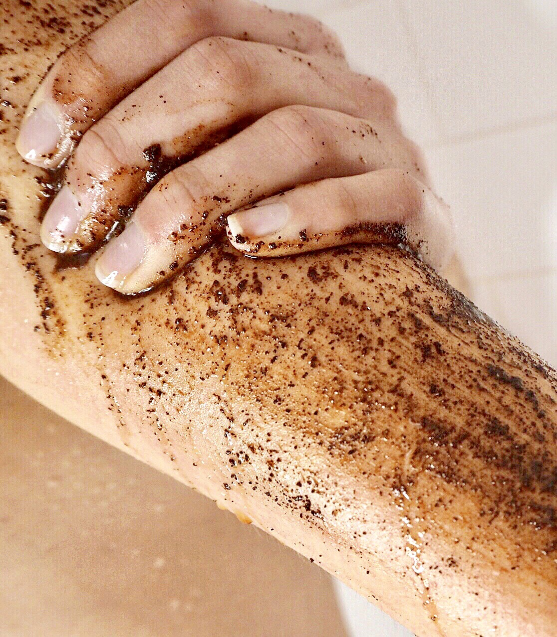 Prepare To Get Messy With Hey Good Lookin Organic Coffee Scrubs