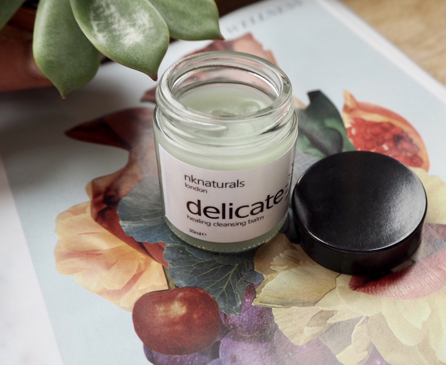 NK naturals delicate cleansing balm