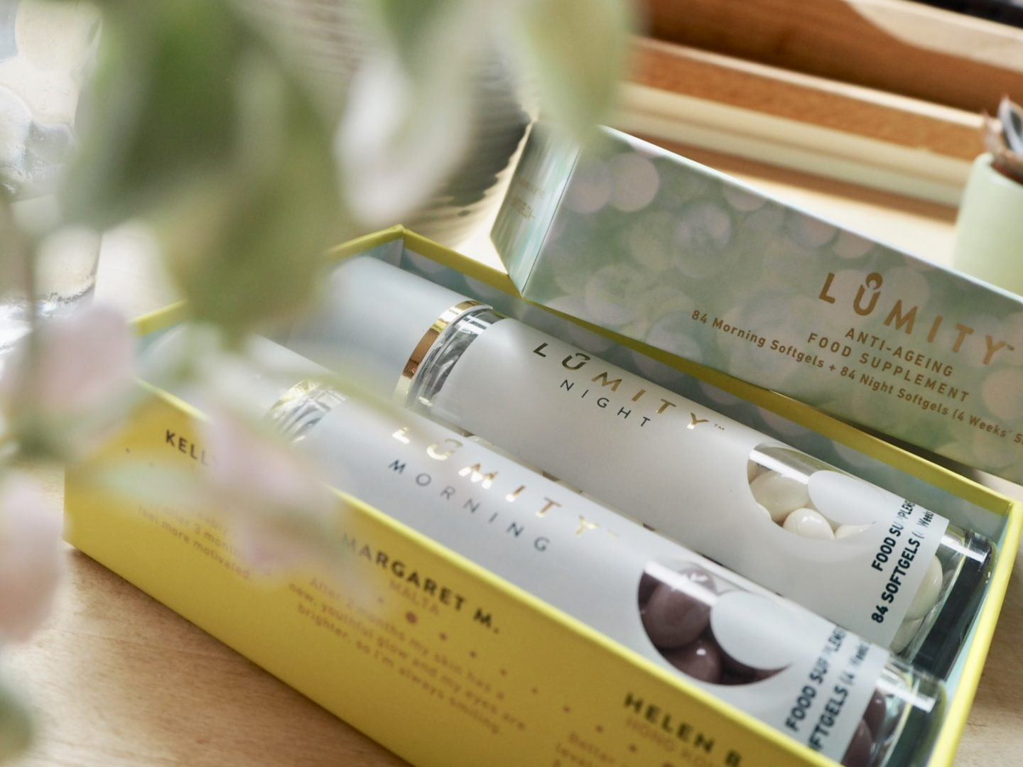 Lumity Anti-ageing food supplement
