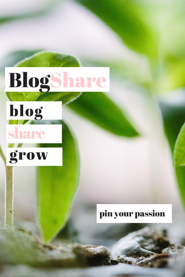 Pinterest BlogShare.
